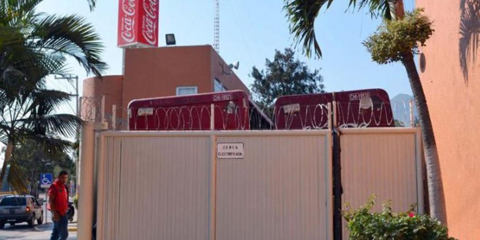 Coca Cola cierra instalaciones en Ciudad Altamirano por inseguridad