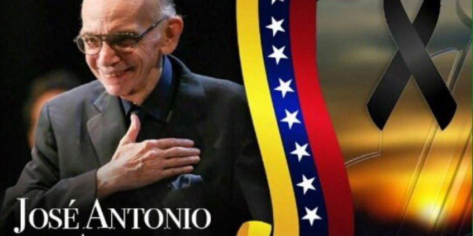 Declaran luto nacional en Venezuela por muerte del músico José Antonio Abreu