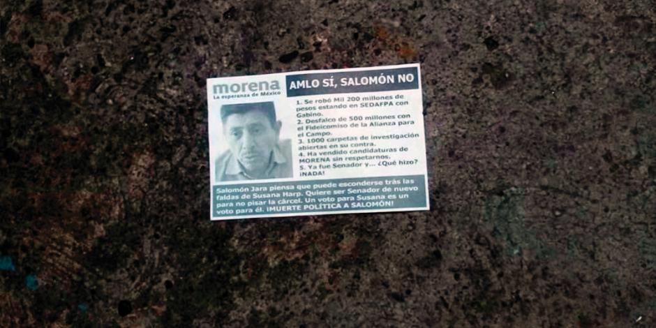 Militantes tunden a morenista que desvió 1.2 mdp