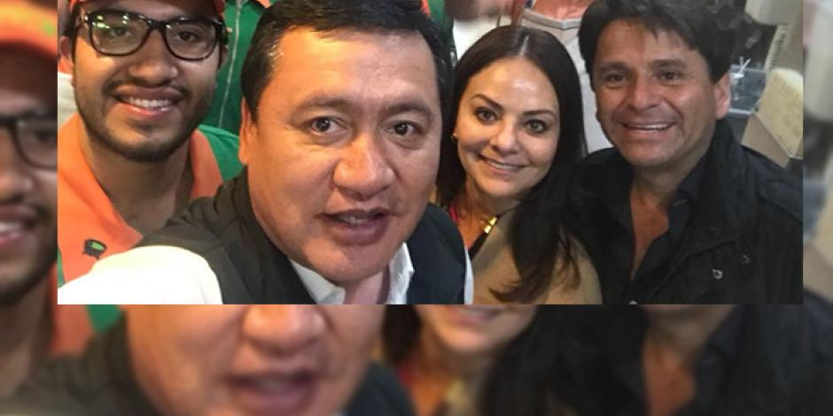 Osorio Chong deja la política un rato y promociona tacos en Hidalgo