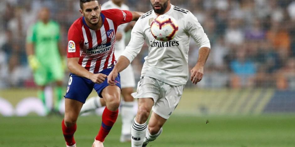 Real Madrid y Atlético de Madrid empatan 0-0 en el Derbi de La Liga
