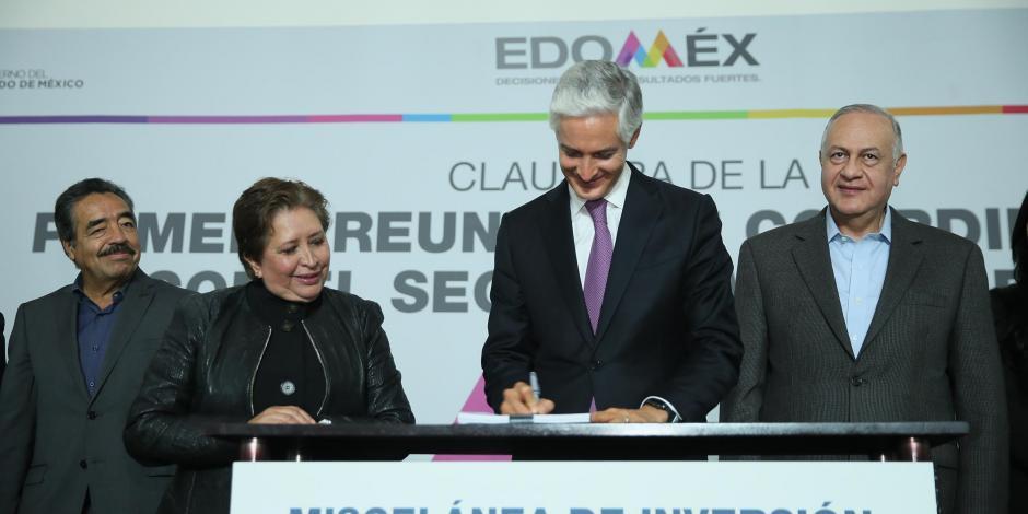 Edomex con marco jurídico moderno para apertura de empresas: Del Mazo