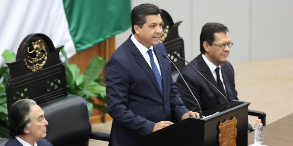 Se compromete gobernador de Tamaulipas a recuperar la paz de las familias de la entidad