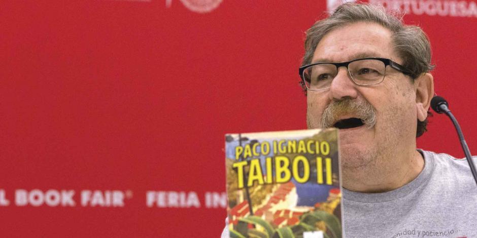 Analizan votar contra Ley Taibo por dichos del escritor