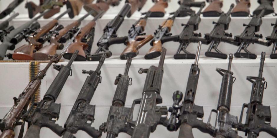 Incautan 15 mil kg de drogas, 326 armas, más de un millón de pesos… a grupos criminales