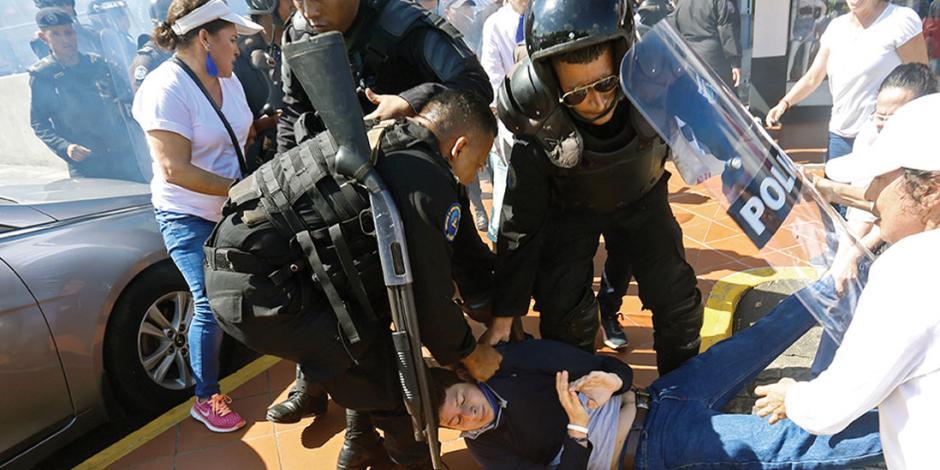 OEA, por frenar represión en Nicaragua