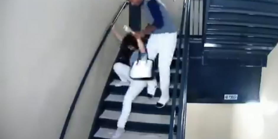 Difunden video de beisbolista venezolano dando golpiza a su novia