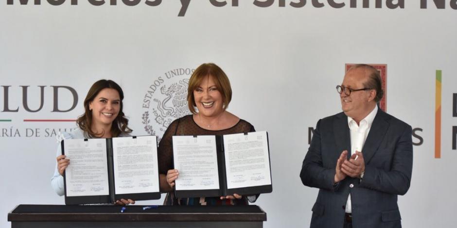 Reconocen a DIF Morelos como pionero en atención social en México