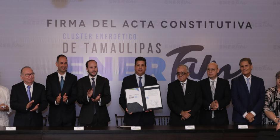 Conforma Tamaulipas clúster energético
