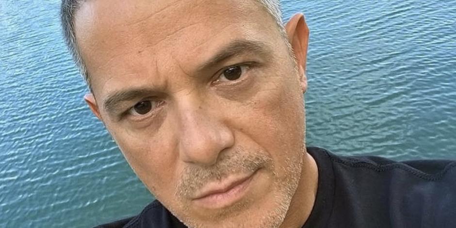 Alejandro Sanz presume resultados de su dieta