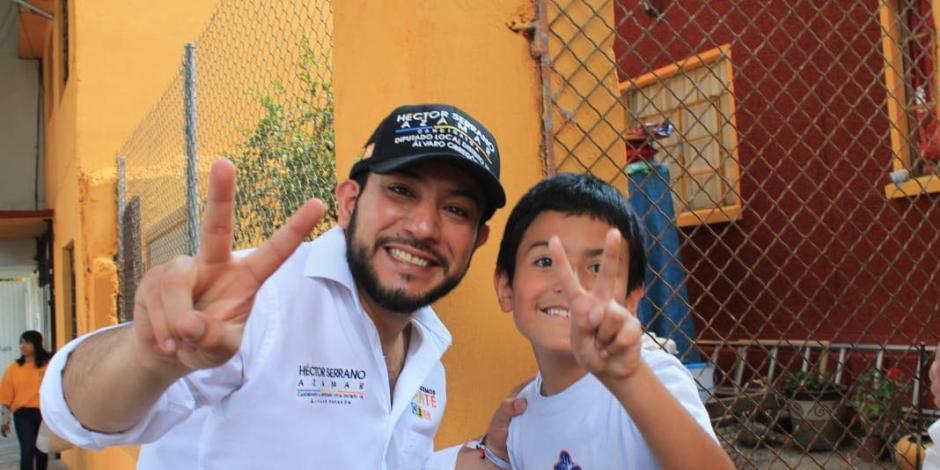 Nuevas estaciones de policía y más cámaras, propone Serrano Azamar