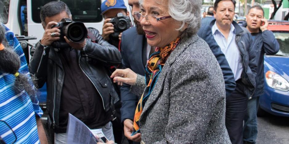 Sánchez Cordero alista diálogo con Alfonso Durazo sobre foros por la paz