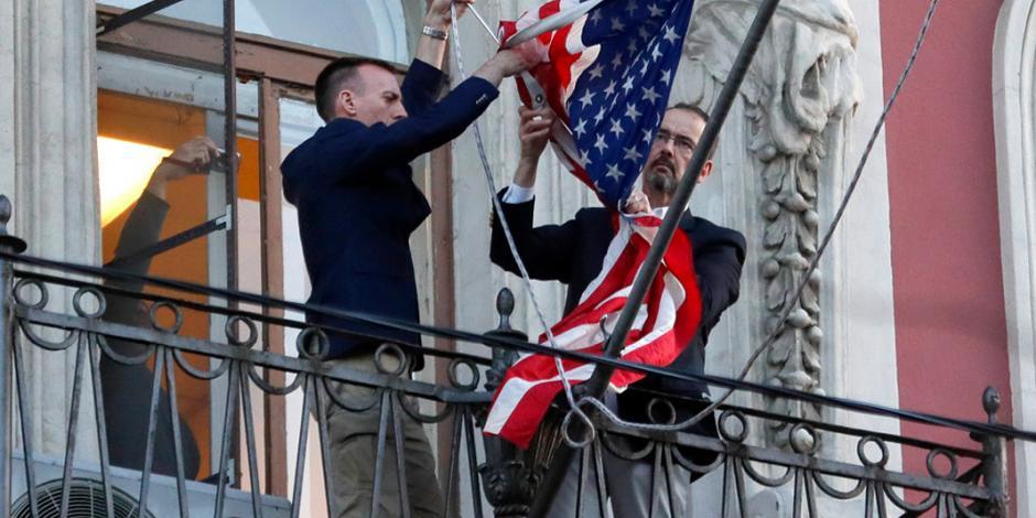 Enviados de Rusia y de EU dejan Washington y San Petersburgo