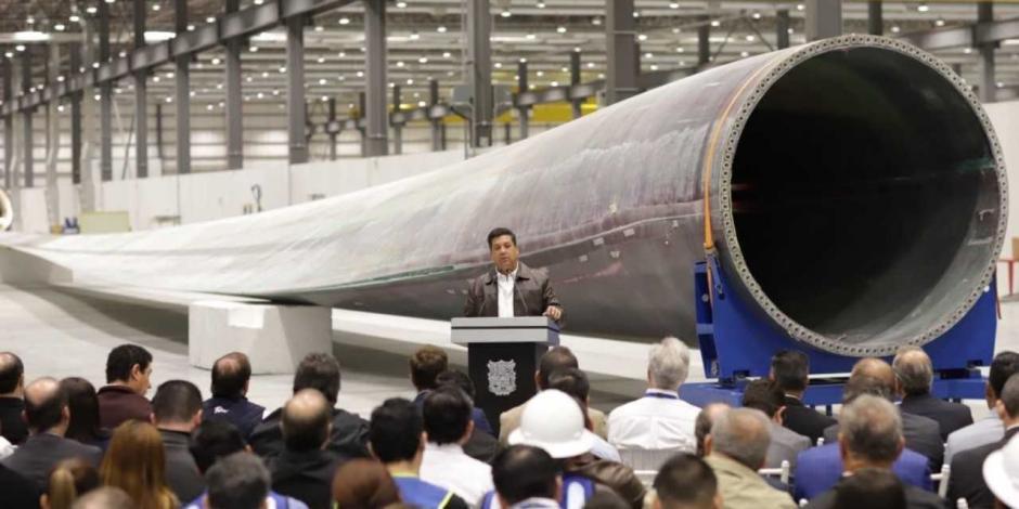 Inicia en Tamaulipas la construcción de palas para aerogeneradores