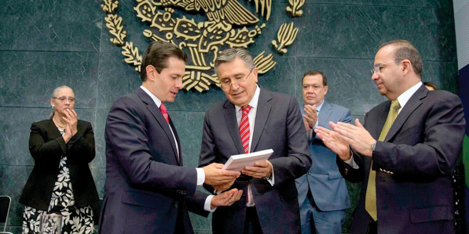 EPN: México, en camino correcto hacia el imperio de la justicia