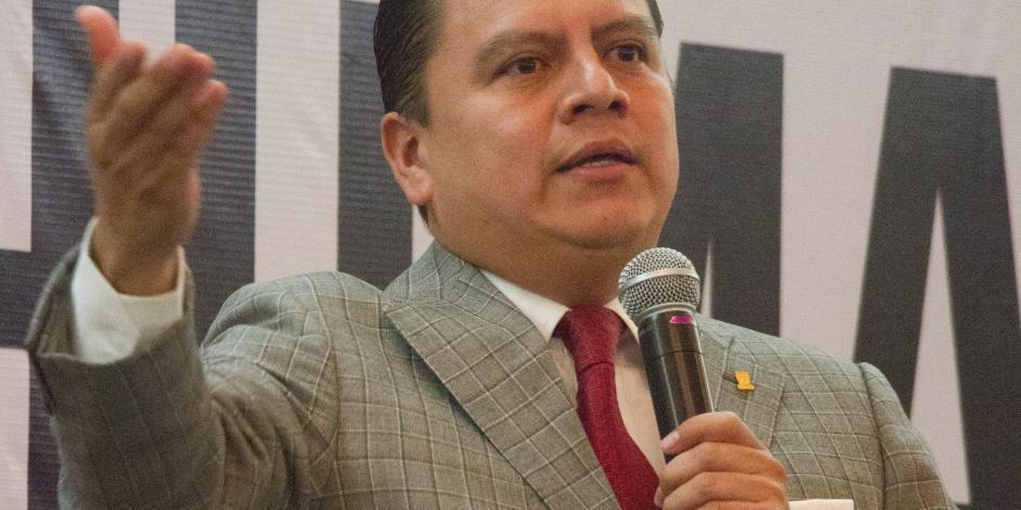 Manuel Granados renuncia a la dirigencia del PRD