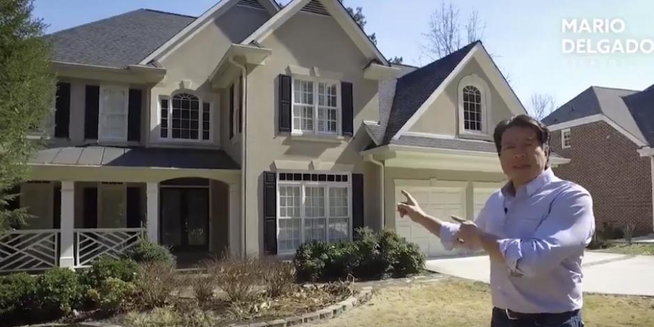 Delgado visita casa de Anaya en Atlanta y cuestiona su candidatura