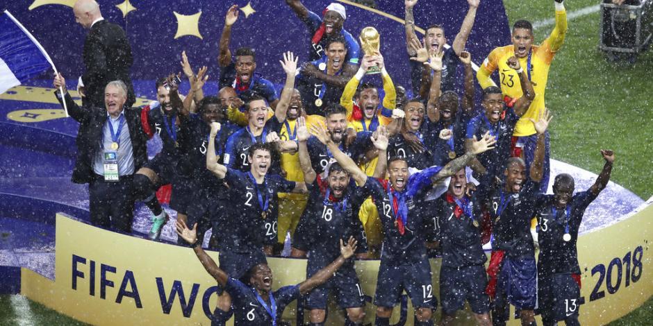 Veinte años después, Francia vuelve a ser campeón del mundo