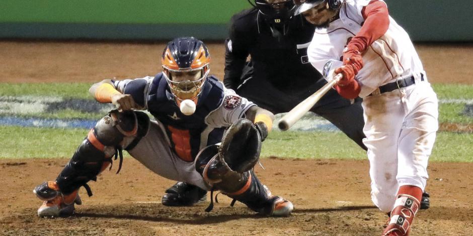 Boston iguala Serie y obliga al quinto juego ante Astros