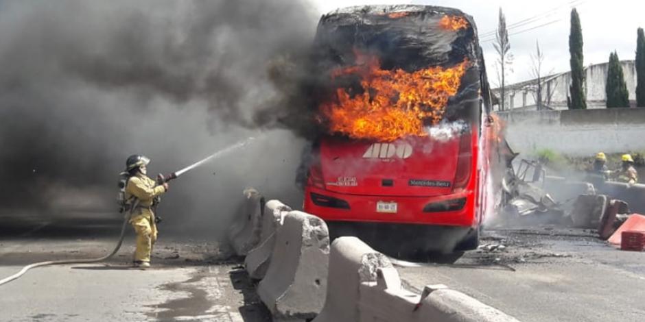VIDEO: Carambola en Puebla-Orizaba deja un muerto y 15 heridos