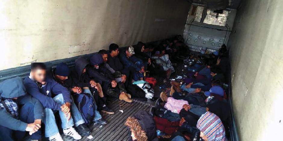 Rescatan a 191 migrantes en Hidalgo y Veracruz
