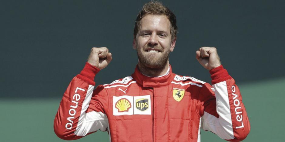 Pese a ir 40 puntos abajo, Vettel aspira al título de F1