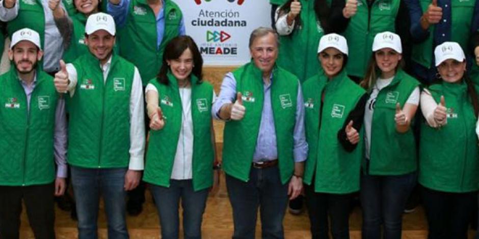 Presenta Meade la Coordinación de Atención Ciudadana y Buzón del Candidato