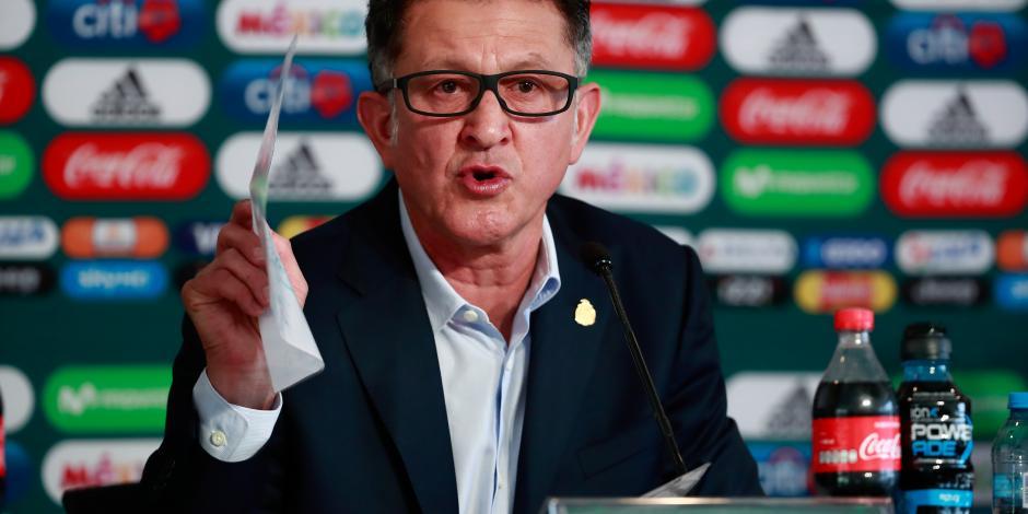 Osorio, sin descartar a ningún jugador para Rusia, tras juego con Gales