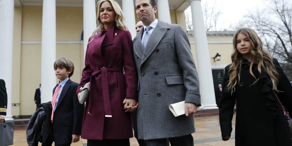 Esposa de Donald Trump Jr. solicita el divorcio