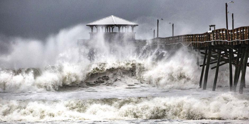 FOTOS: Con Florence vuelve una amenaza como Harvey