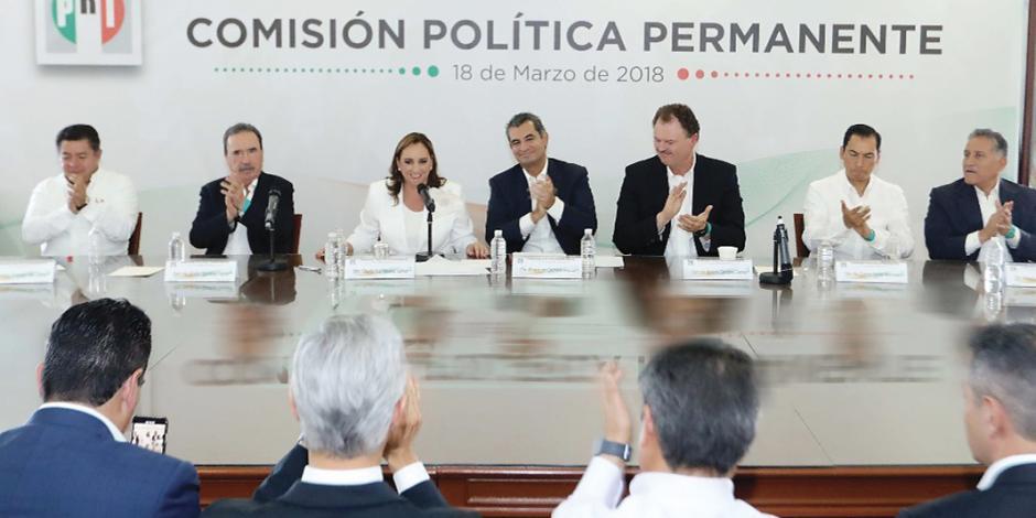 PRI avala lista de pluris al Senado y San Lázaro