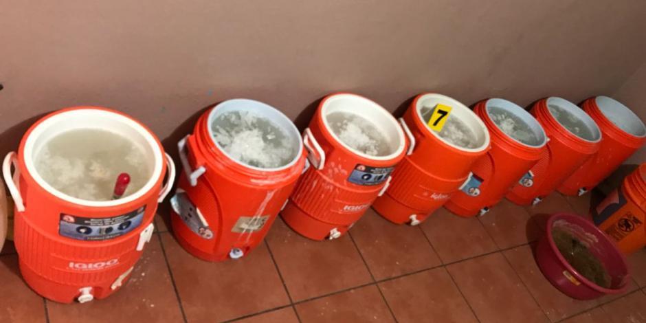 PGR decomisa 500 kg de metanfetamina en Baja California