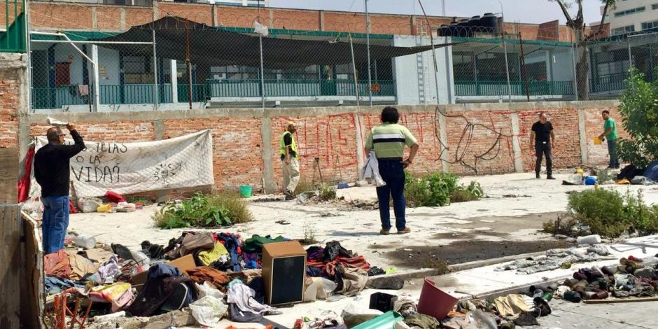 El recuerdo en Chimalpopoca invade a un año de los sismos
