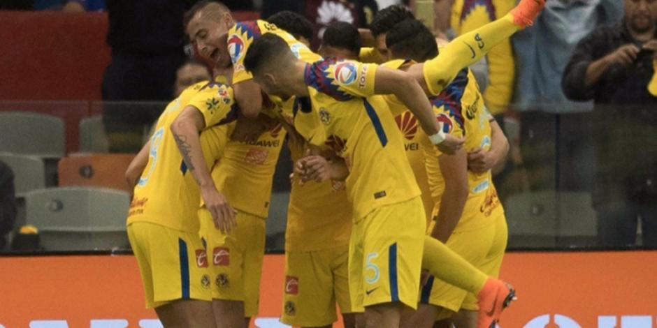 América se lleva el Clásico Joven; gana 2-1 al Cruz Azul