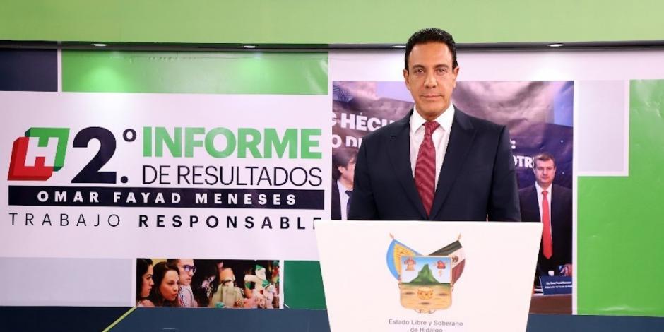 Hidalgo, con equilibrio y libertad rumbo al tercer año de gobierno: Fayad