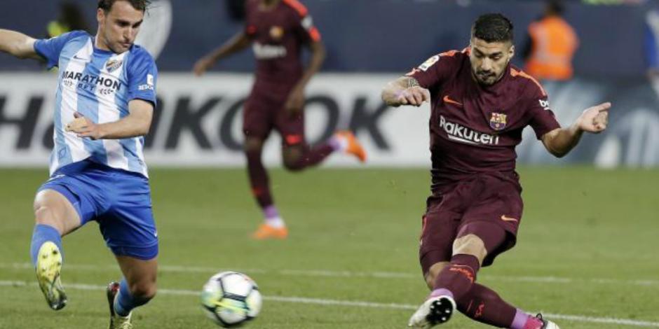 Barcelona gana sin Messi y mantiene el liderato