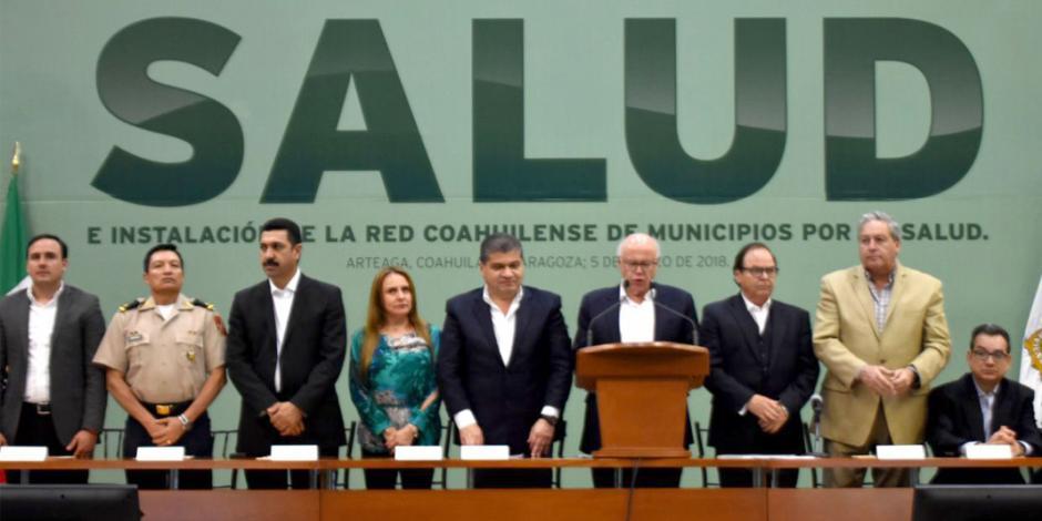 Reconoce Narro trabajo de Red Coahuilense por la Salud en favor de los ciudadanos