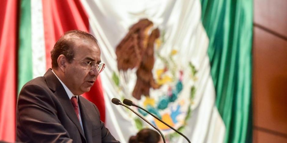 Ante diputados, Navarrete Prida destaca gobernabilidad en México