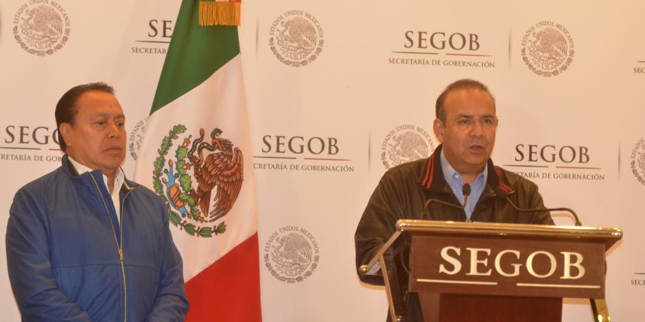 Gobierno de la República condena agresiones a candidatos