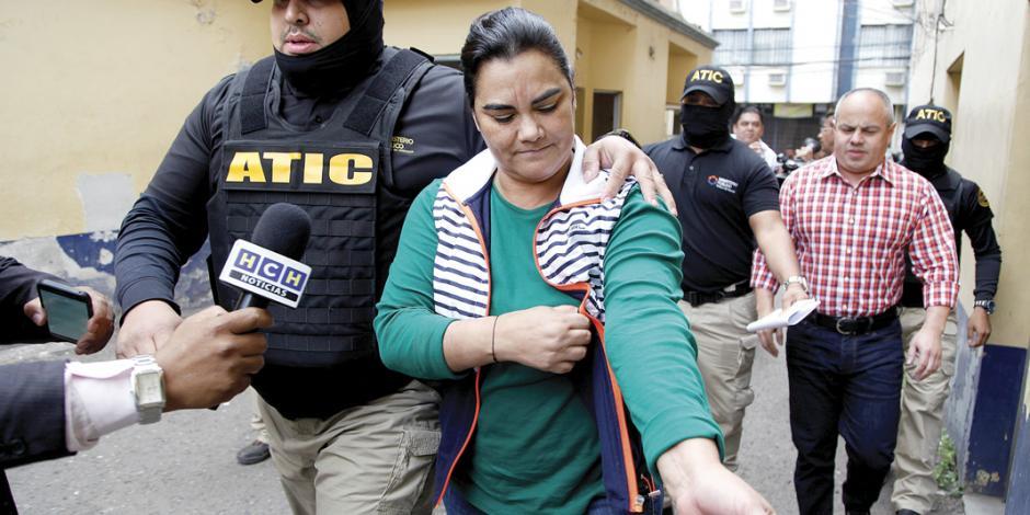 Cae ex primera dama de Honduras por corrupta