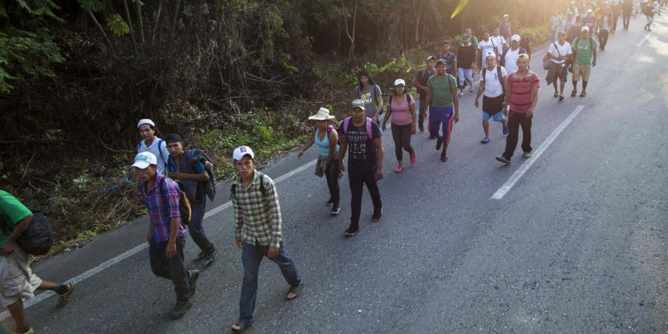 Civiles armados planean detener caravana en frontera de EU