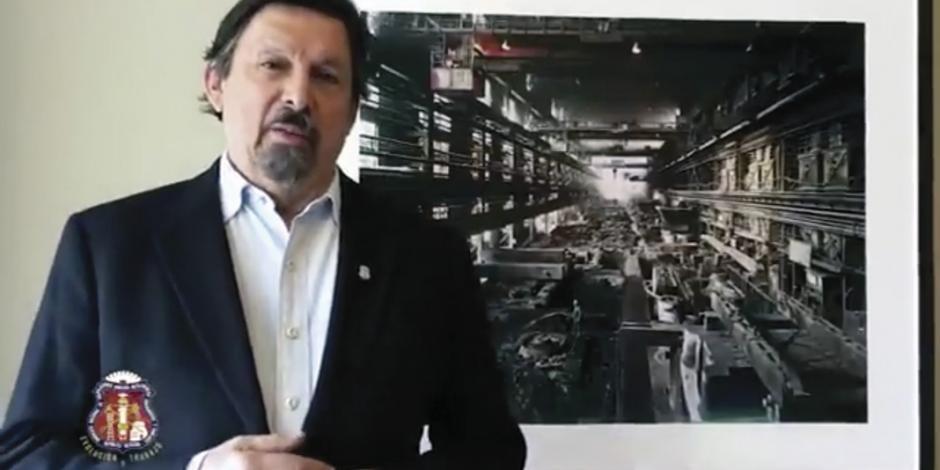 Reaparece Napito en el Zócalo… en video