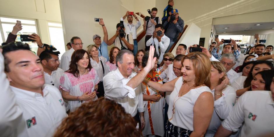 Refrendan campechanos apoyo a José Antonio Meade
