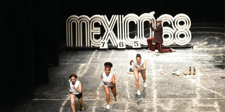 Dan presencia a teatro estatal en CDMX