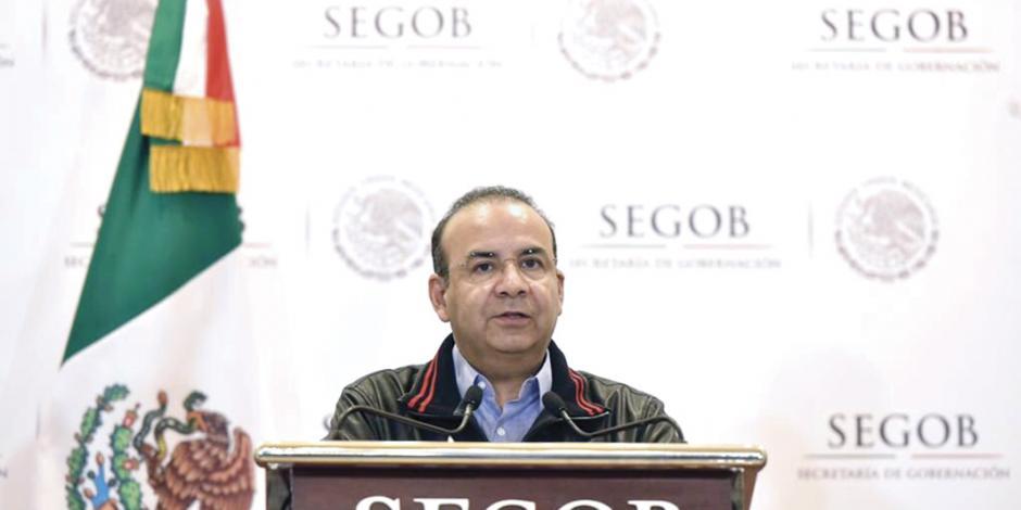 Segob llama al diálogo y a no incitar a violencia en las campañas