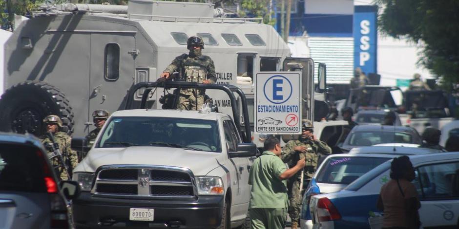 Toma la Marina las instalaciones de la SSP de Acapulco