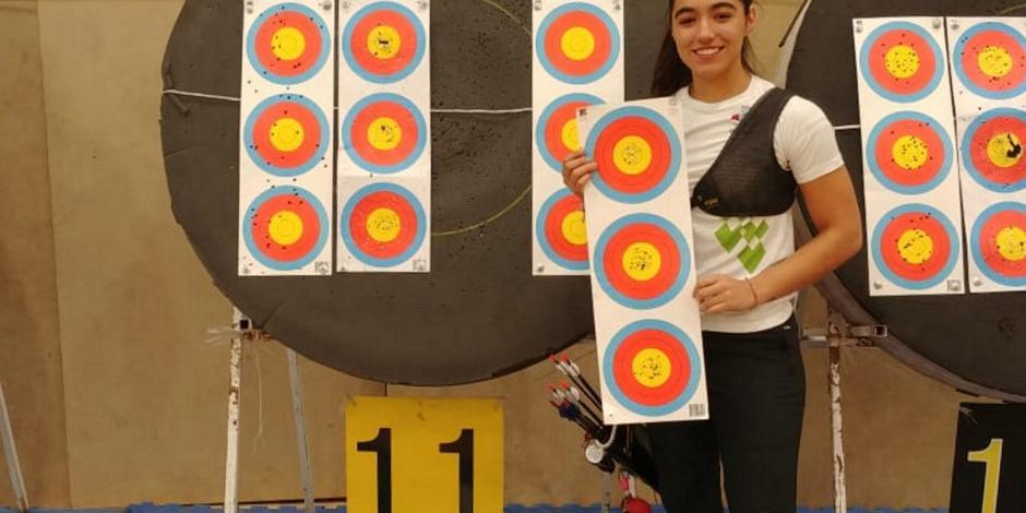 Ana Paula Vázquez impone récord nacional en tiro con arco