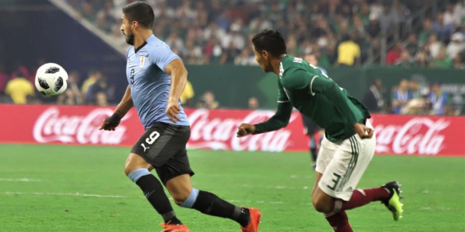 Suárez firma doblete y Uruguay golea a la Selección Mexicana