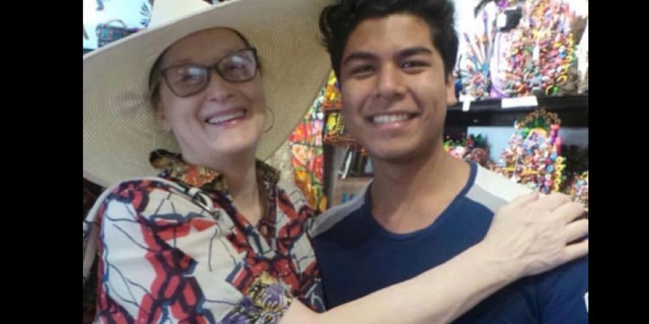 Vacaciona Meryl Streep en San Miguel de Allende; se toma selfies con fans