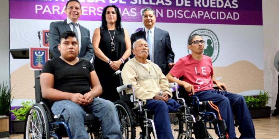 Construyen plataforma para atención a personas con discapacidad
